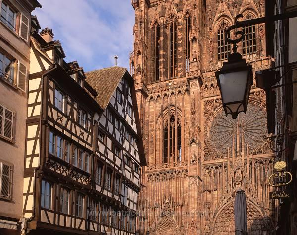 Strasbourg, cathedrale Notre-Dame (Notre-Dame cathedral), Alsace, France - FR-ALS-0033