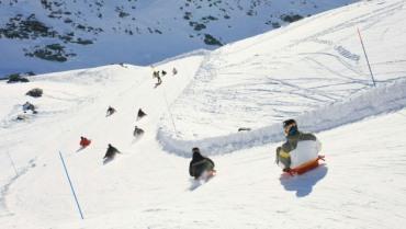 Activite sportive a la neige