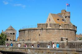 Le château de Saint-Malo